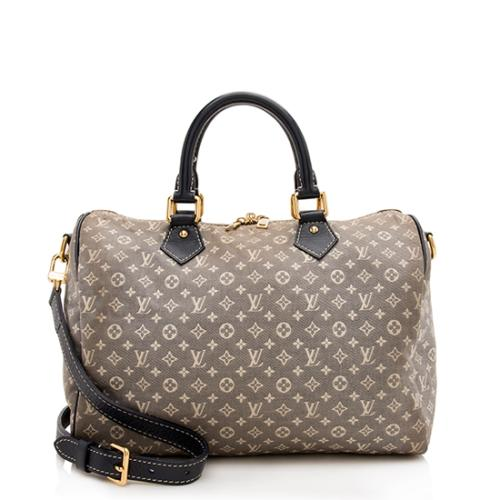 Louis Vuitton Monogram Idylle Speedy Bandouliere 30 Satchel