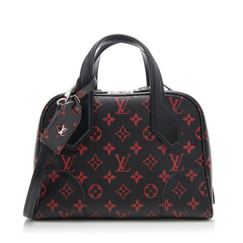 Louis Vuitton Monogram Infrarouge Dora Soft BB Satchel