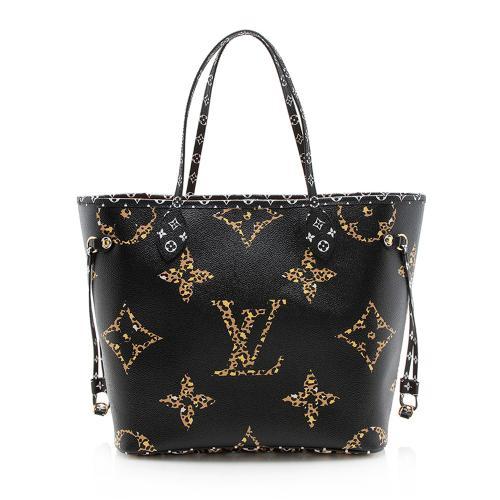 Louis Vuitton Monogram Jungle Neverfull MM Tote