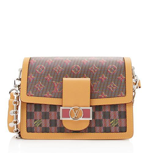 Louis Vuitton Monogram Leather Dauphine Pop MM Shoulder Bag