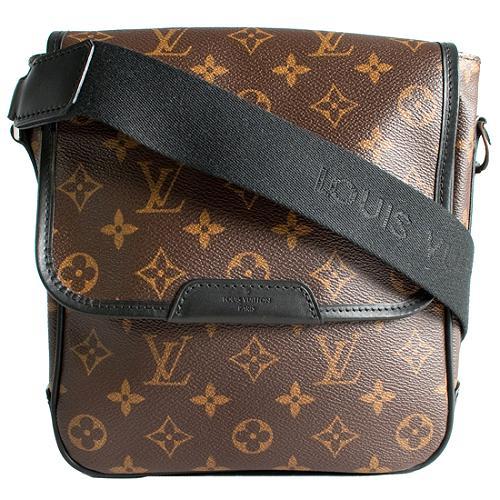 Louis Vuitton Monogram Macassar Bass PM Messenger Bag