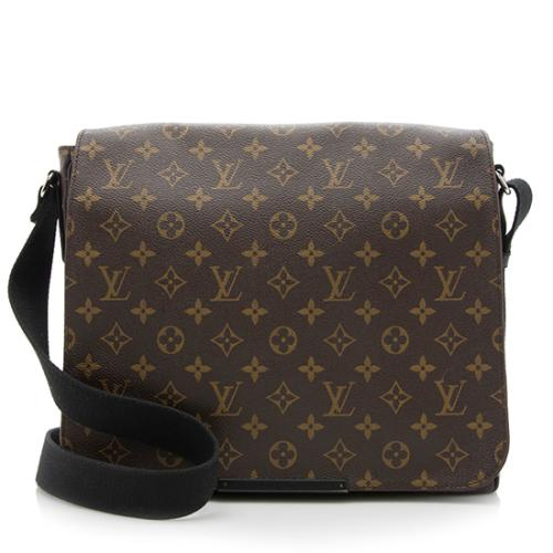 796f3f131b1a Louis-Vuitton-Monogram-Macassar-Canvas-District-MM-Messenger -Bag 89815 front large 0.jpg