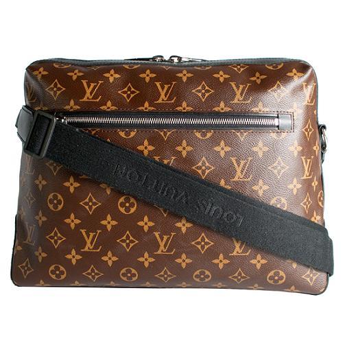 Louis Vuitton Monogram Macassar Torres Messenger Bag