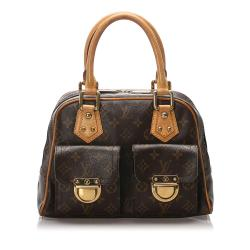 Louis Vuitton Monogram Manhattan PM Satchel