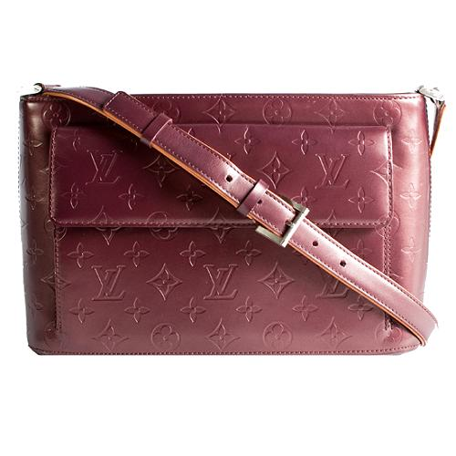 Louis Vuitton Monogram Mat Allston Shoulder Handbag