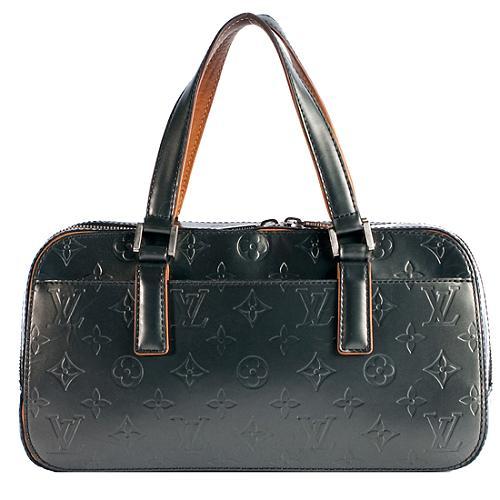 Louis Vuitton Monogram Mat Shelton Satchel Handbag