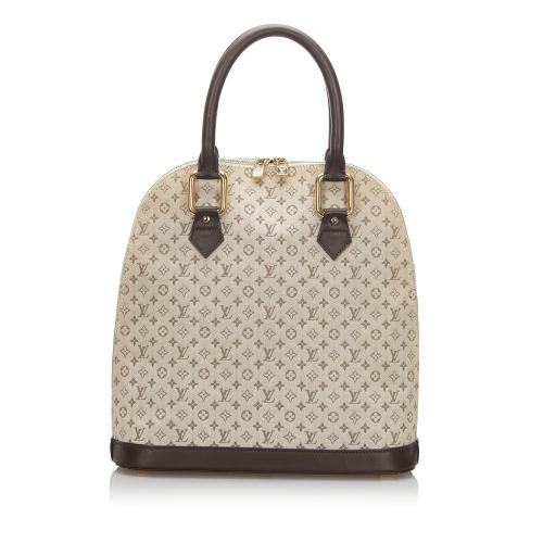 Louis Vuitton Monogram Mini Lin Alma Haut Satchel
