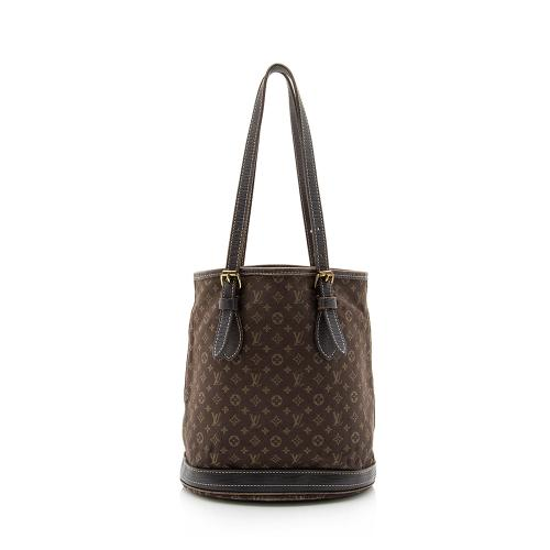 Louis Vuitton Monogram Mini Lin Bucket PM Tote - FINAL SALE