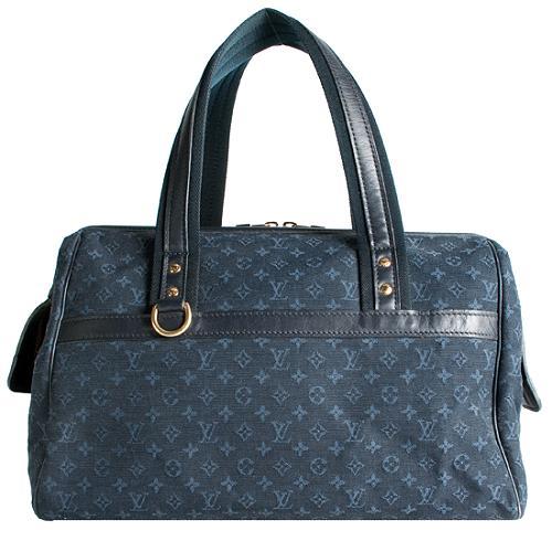 Louis Vuitton Monogram Mini Lin Josephine GM Satchel Handbag