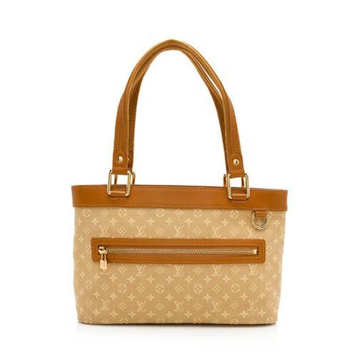 Louis Vuitton Monogram Mini Lin Lucille PM Tote