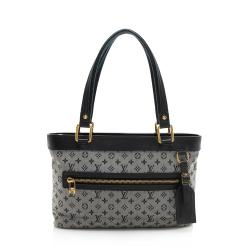 Louis Vuitton Monogram Mini Lin Lucille PM Tote