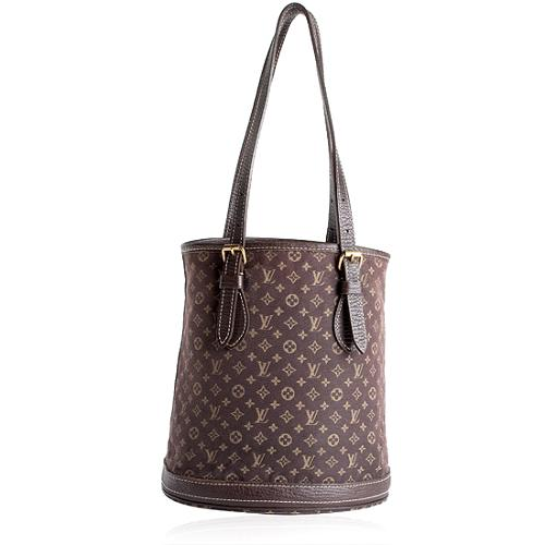 Louis Vuitton Monogram Mini Lin PM Bucket Tote
