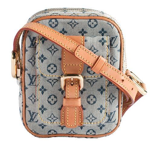 f34af28b29 Louis Vuitton Monogram Mini Lin Pochette Crossbody Shoulder Handbag