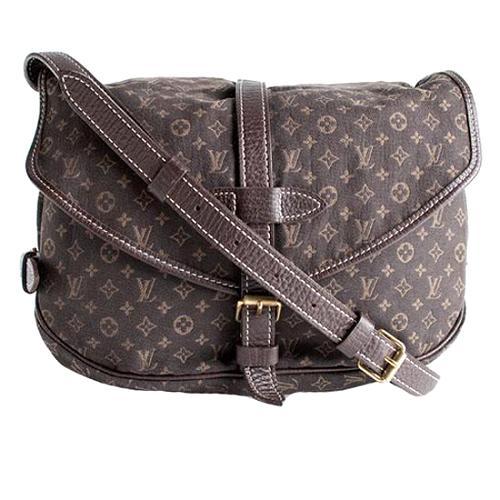 Louis Vuitton Monogram Mini Lin Saumur Messenger Bag
