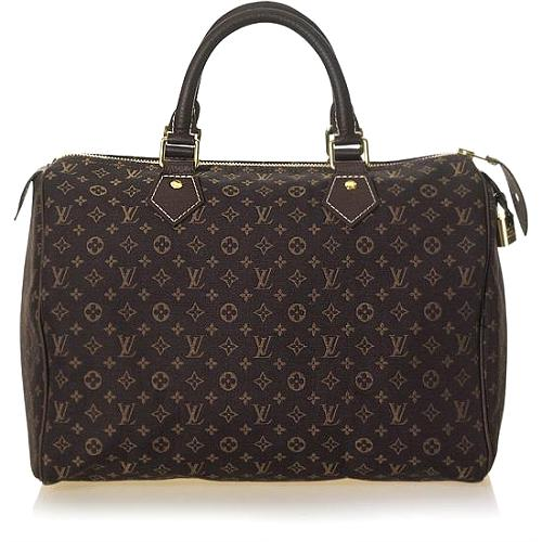 Louis Vuitton Monogram Mini Lin Speedy 30 Handbag - FINAL SALE