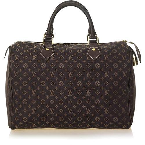 Louis Vuitton Monogram Mini Lin Speedy 30 Handbag - FINAL SALE