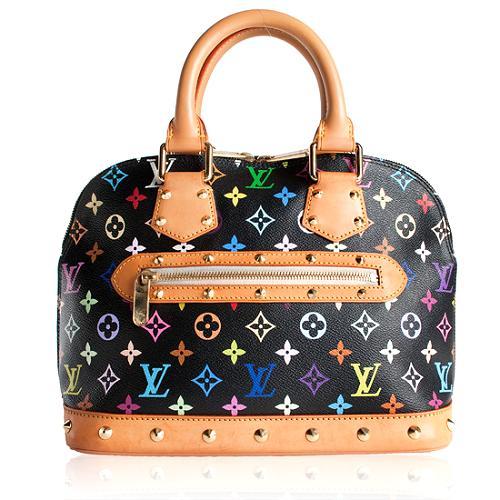 Louis Vuitton Monogram Multicolore Alma Handbag - FINAL SALE