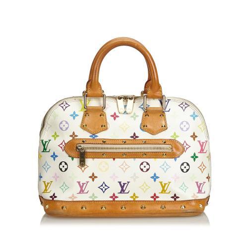 Louis Vuitton Monogram Multicolore Alma PM Satchel - FINAL SALE