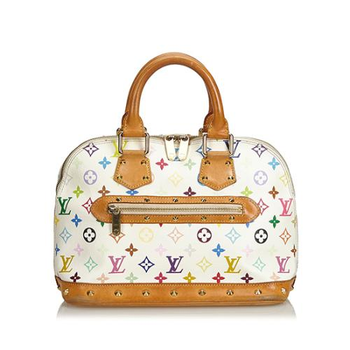 Louis Vuitton Monogram Multicolore Alma PM Satchel - FINAL SALE
