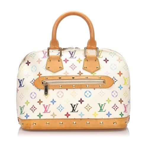 Louis Vuitton Monogram Multicolore Alma PM Satchel