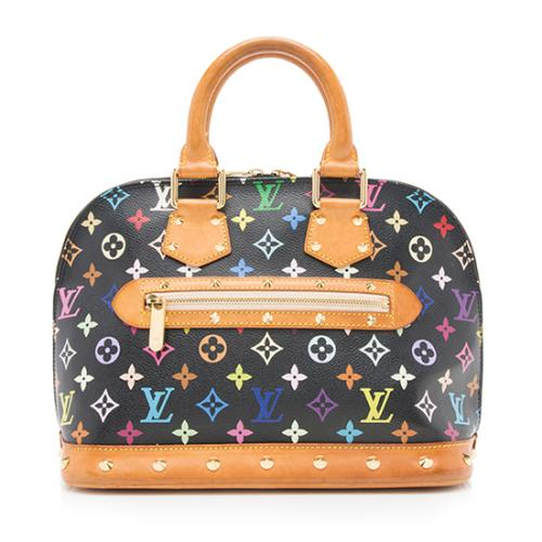 Louis Vuitton Monogram Multicolore Alma Satchel