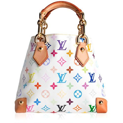 Louis Vuitton Monogram Multicolore Audra Satchel Handbag