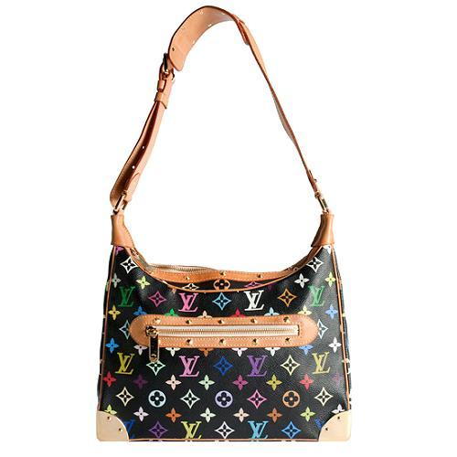 Louis Vuitton Monogram Multicolore Boulogne Shoulder Handbag