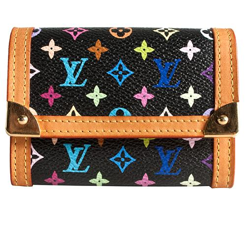 Louis Vuitton Monogram Multicolore Coin Wallet