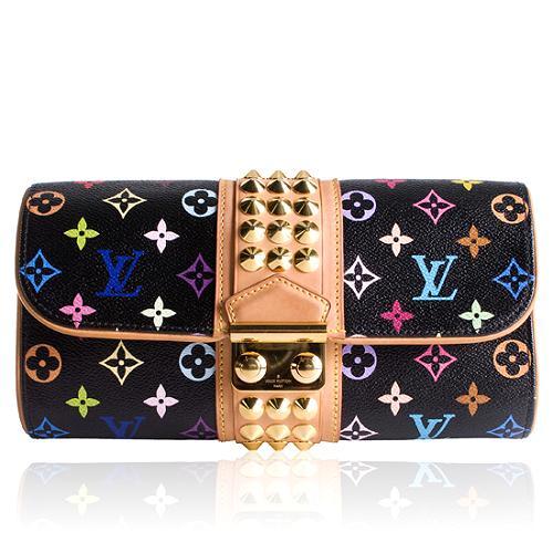 Louis Vuitton Monogram Multicolore Courtney Clutch