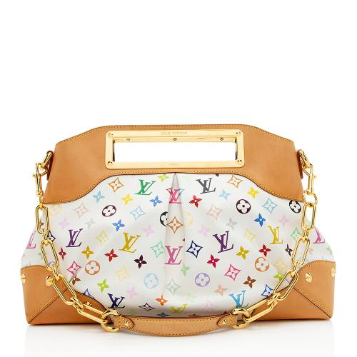Louis Vuitton Monogram Multicolore Judy GM Shoulder Bag