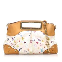 Louis Vuitton Monogram Multicolore Judy MM Satchel
