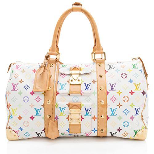 Louis Vuitton Monogram Multicolore Keepall 45 Duffel Bag