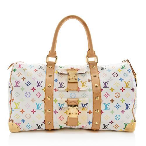 Louis Vuitton Monogram Multicolore Keepall 45 Duffel Bag