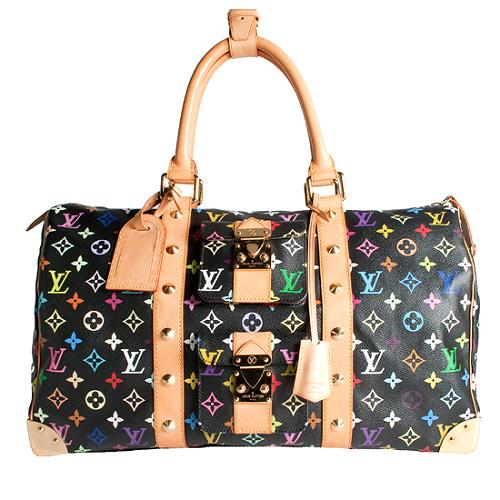 Louis Vuitton Monogram Multicolore Keepall 45 Duffel Handbag