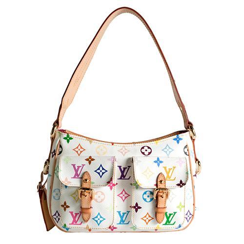 Louis Vuitton Monogram Multicolore Lodge PM Shoulder Handbag