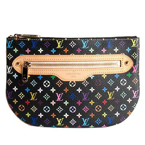 Louis Vuitton Monogram Multicolore Mini Pochette GM Clutch