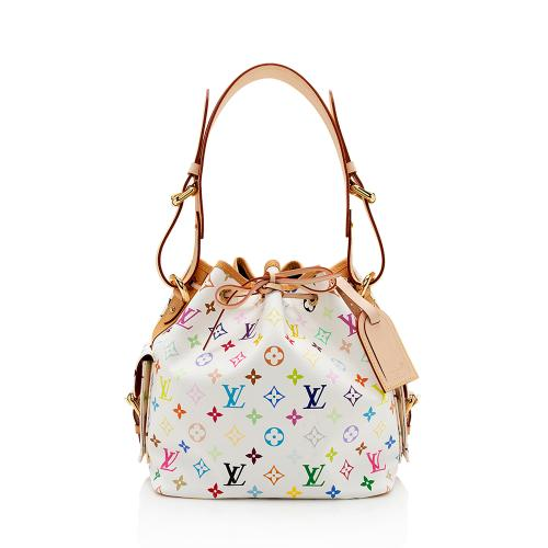 Louis Vuitton Monogram Multicolore Petit Noe Shoulder Bag