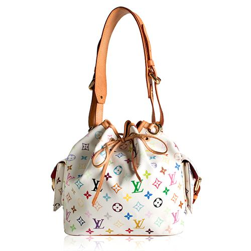 Louis Vuitton Monogram Multicolore Petit Noe Shoulder Handbag