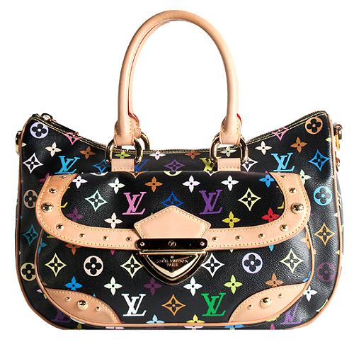 Louis Vuitton Monogram Multicolore Rita Satchel Handbag