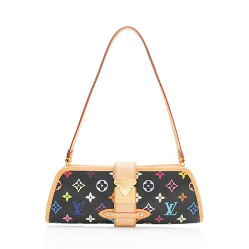 Louis Vuitton Monogram Multicolore Shirley Clutch