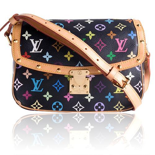 Louis Vuitton Monogram Multicolore Sologne Shoulder Handbag