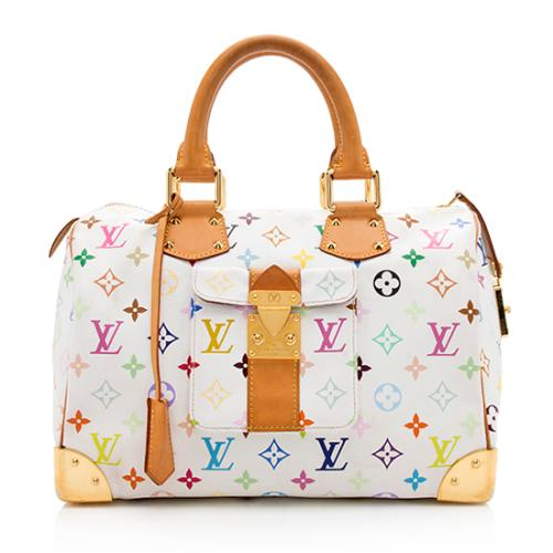 Louis Vuitton Monogram Multicolore Speedy 30 Satchel