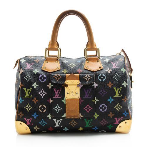 Louis Vuitton Monogram Multicolore Speedy 30 Satchel
