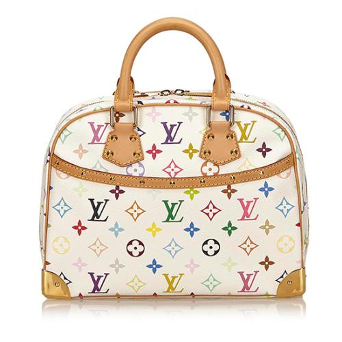 Louis Vuitton Monogram Multicolore Trouville Satchel