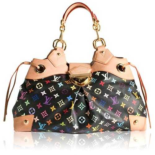 Louis Vuitton Monogram Multicolore Ursula Satchel Handbag