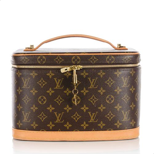 first rate 42086 11672 Louis Vuitton Monogram Canvas Nice Beauty Case
