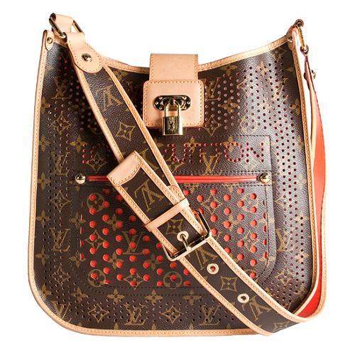 Louis Vuitton Monogram Perforated Musette Shoulder Handbag