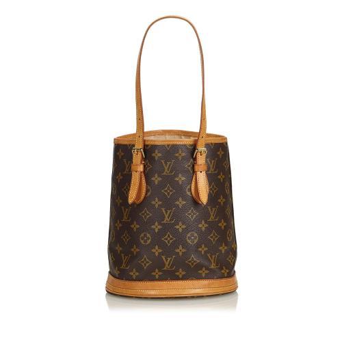 Louis Vuitton Monogram Canvas Petit Bucket Bag - FINAL SALE