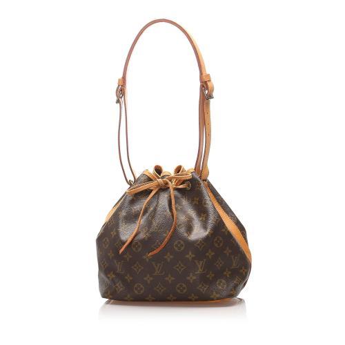 Louis Vuitton Monogram Canvas Petit Noe Shoulder Bag