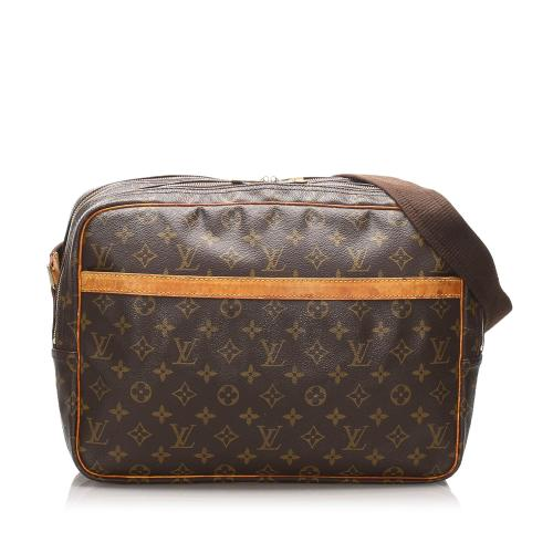 Louis Vuitton Monogram Canvas Reporter GM Shoulder Bag
